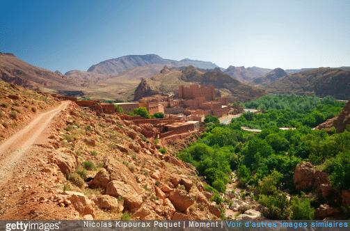 Les kasbahs sont typiques du Maroc.