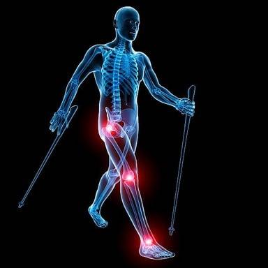 Les bienfaits de la randonnée en cas d'arthrose du genou
